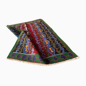 Vintage Turkish Kilim Rug in Wool