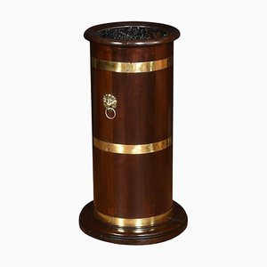 Brass Bound Barrel Stick Stand