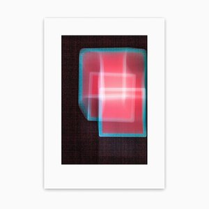 Rötliches Quadrat, Abstrakte Fotografie, 2013