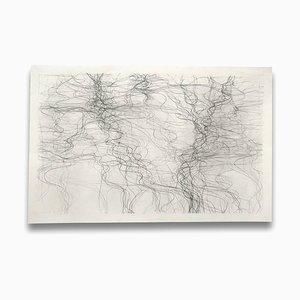 Prospekt 1, Abstrakte Zeichnung, 2012