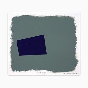Eckige Masse 045, Abstrakte Zeichnung, 2017