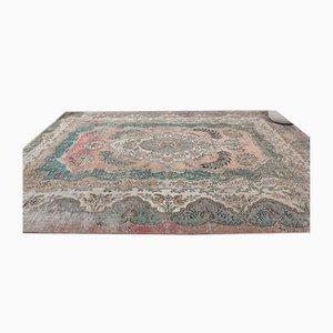 Großer antiker orientalischer Heriz Teppich mit Medallion Design