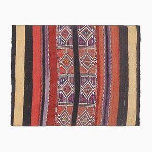 Turkish Vintage Oushak Kilim Rug