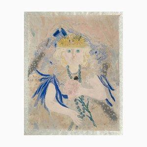 Jacqueline Marval, Jeune élépgante au collier