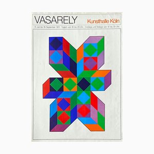 Victor Vasarely, Expo 71, Kunsthalle, Colonia