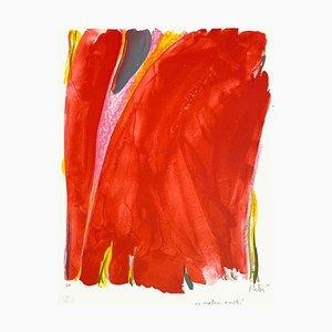 Olivier Debre, Rideau rouge, Satie