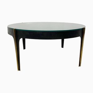 Mid-Century Glass Coffee Table Attributed to Max Ingrand for Fontana Arte, Italy
