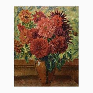 Albert Charpentier, Pot de fleurs fleuries, 1919