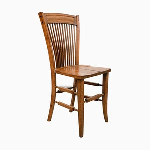 Early 20th Century Traditional Wood Chair
