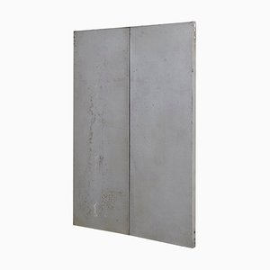 Ramon Horts, abstraktes minimalistisches Metall Kunstwerk, 1/2 N 003