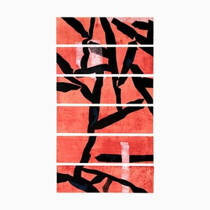 Red Etching by Huai-Qing Wang, 2008