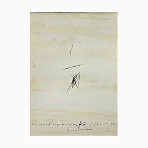 Lithografie von Antoni Tàpies, 1964