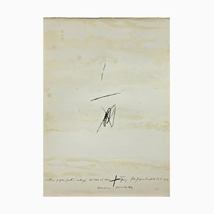 Lithography by Antoni Tàpies, 1964