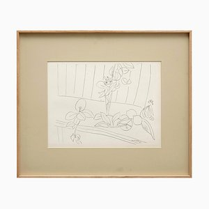 Lithograph After Drawing by Henri Matisse