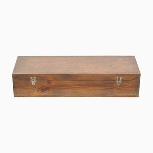 Antique French Wooden Chest, 1930s