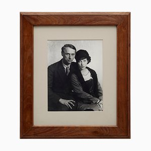 Man Ray, Photograph of Max Ernst & Marie Berthe Aurenche