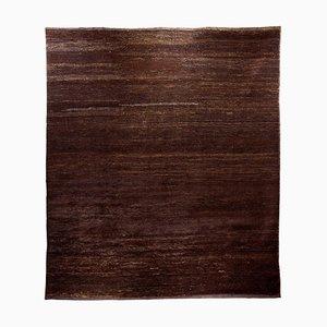 Antiker handgeknüpfter türkischer Teppich aus Wolle & Ziegenhaar, 1990er