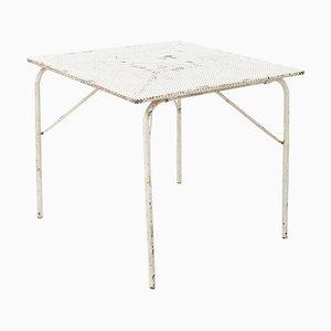 Tavolo da giardino pieghevole di Mathieu Matégot, anni '50