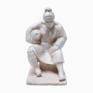 Women Women Skulptur von A. Echtheit, 1956er