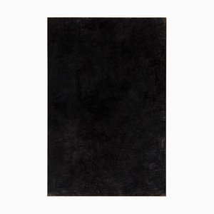 Dipinto grande nero carbone di Enrico Della Torre