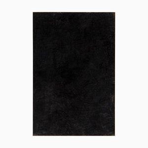 Großes Gemälde in Schwarzer Kohle von Enrico Della Torre