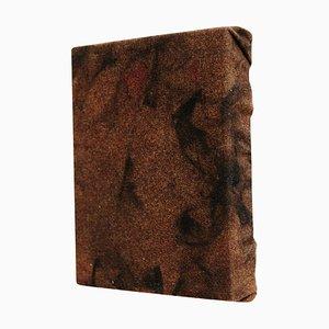 Vastian, Pittura astratta contemporanea su stoffa e legno, 2010