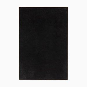 Großes Gemälde in Schwarzer Kohle von Enrico Della Torre, 2017