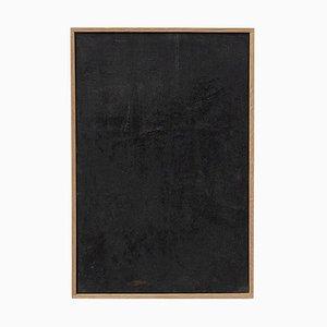 Schwarzes Gemälde von Enrico Della Torre