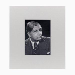 Fotografía de retrato surrealista de Giorgio De Chirico de Man Ray