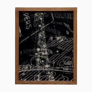 Rayografía Man Ray Electricite en blanco y negro, 1931