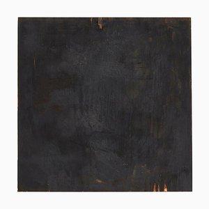 Adrian, Pittura astratta contemporanea su legno, 2017