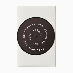 Marcel Duchamp, Esquivons Les Ecchymoses Des Esquimaux Aux Mots Exquis, 1968