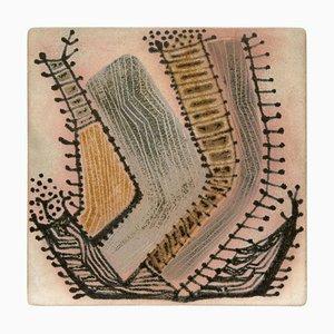 Antoni Cumella, Abstrakte Minimalistische Keramik Kunstwerk, 1979