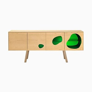 Prototype Aquario II Sideboard in Glass and Wood by Campana Brothers for BD