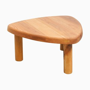 Formalist T23 Side Table in Solid Elm by Pierre Chapo