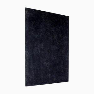 Große moderne moderne schwarze monochrome Gemälde von Enrico Della Torre