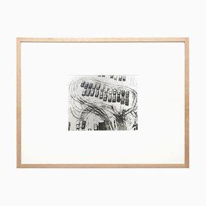 Estacionamiento en invierno, fotografía de Chicago, László Moholy-Nagy