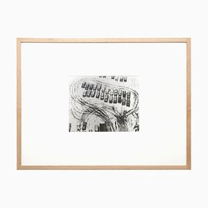 Parcheggio in inverno, Chicago Fotografia, László Moholy-Nagy