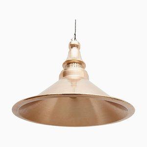 Deckenlampe aus Messing, 20. Jh