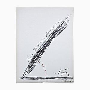 Antoni Tàpies, Abstract Art Lithograph, 1969