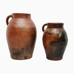 Traditionelle Keramik, 19. Jh., 2er Set