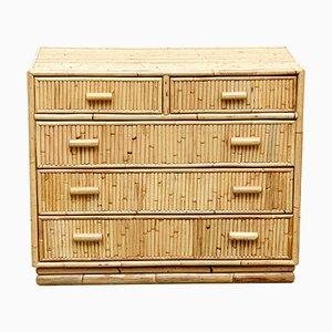 Mid-Century Sideboard aus Bambus, 1960er