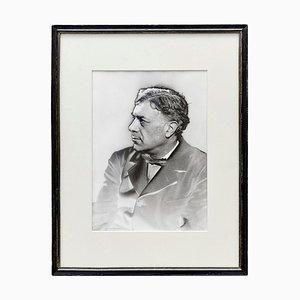 Fotografia in bianco e nero di Man Ray, Georges Braque