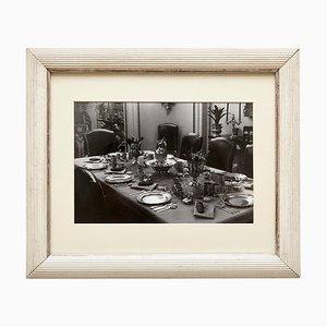 Brassai Schwarz-Weiß-Fotografie eines Interieurs, 1936
