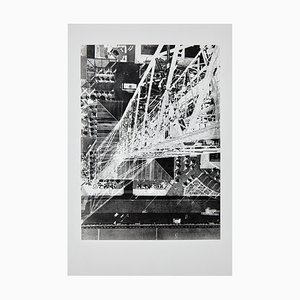 Fotografia grande in bianco e nero di László Moholy