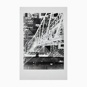 Große Schwarz-Weiß-Fotografie von László Moholy