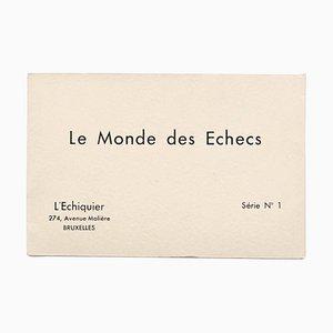 Portfolio di Marcel Duchamp, Man Ray, The World of Echecs