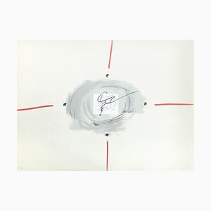 Antoni Tàpies, Lithographie, Night Night 4, 1970
