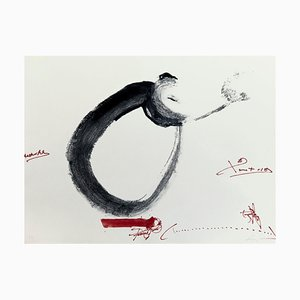 Antoni Tàpies, Hand Signed Etching, Letter Or, 1976