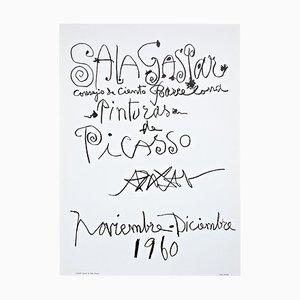 Picasso Lithograph, 1960